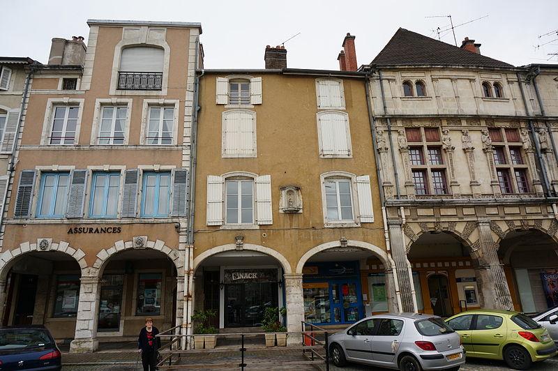 Photo du Monument Historique Maison Renaissance situé à Pont-à-Mousson