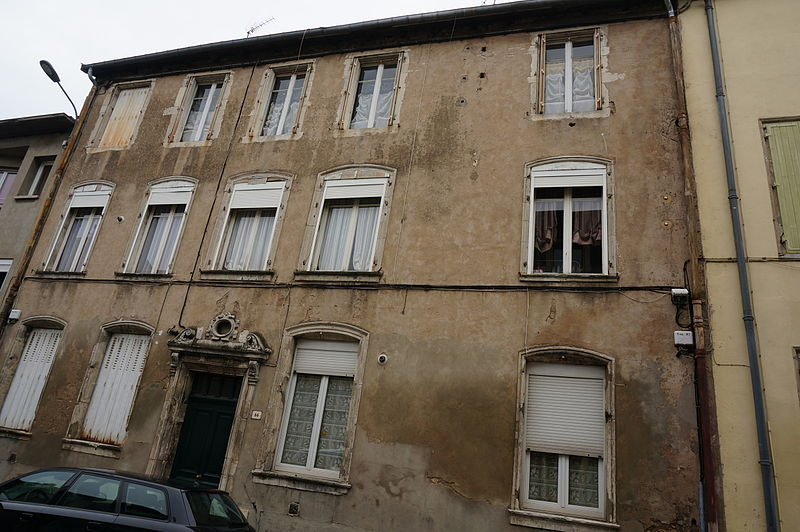 Photo du Monument Historique Maison situé à Pont-à-Mousson
