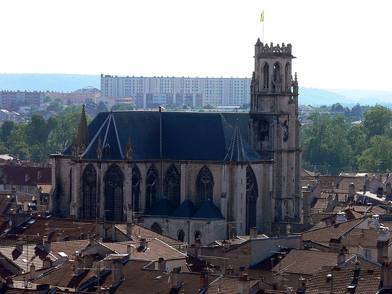 Photo du Monument Historique Eglise Saint-Gengoult et son cloître situé à Toul