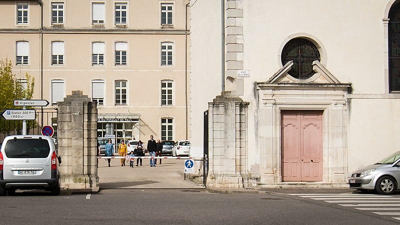 Photo du Monument Historique Hospice Saint-Charles situé à Toul