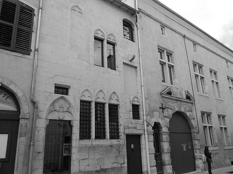 Photo du Monument Historique Immeubles (ancien hôpital des Bourgeois et ancien hôtel de Pimodan) situé à Toul