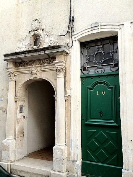 Photo du Monument Historique Immeuble, ancien couvent des soeurs de Notre-Dame situé à Toul