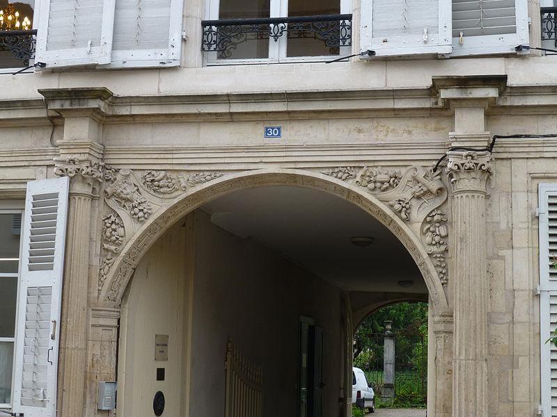 Photo du Monument Historique Maison dite des Chevaliers de Malte situé à Toul