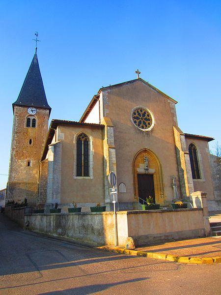 Photo du Monument Historique Eglise situé à Vandières