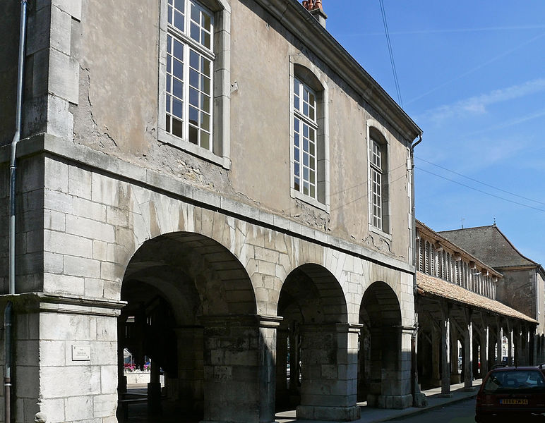 Photo du Monument Historique Halles, Mairie, Palais de Justice situé à Vézelise