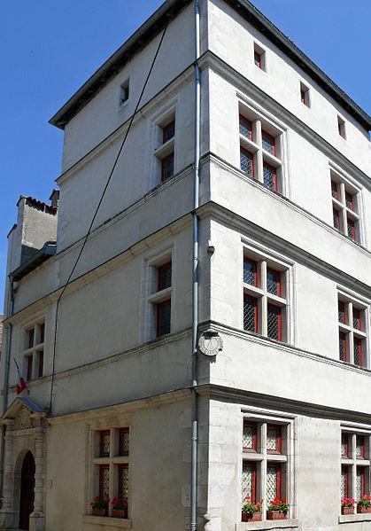 Photo du Monument Historique Maison dite du Bailliage situé à Vézelise