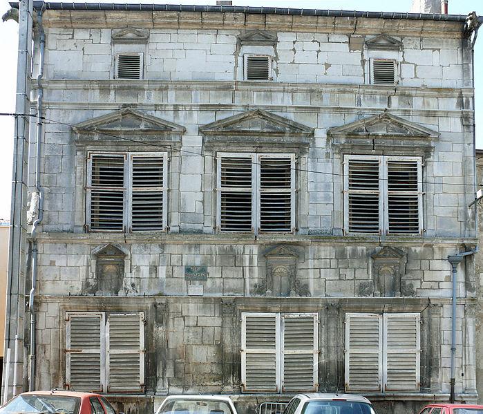 Photo du Monument Historique Hôtel de Tavagny situé à Vézelise