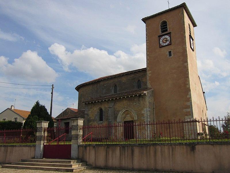 Photo du Monument Historique Eglise Saint-Clément situé à Xammes