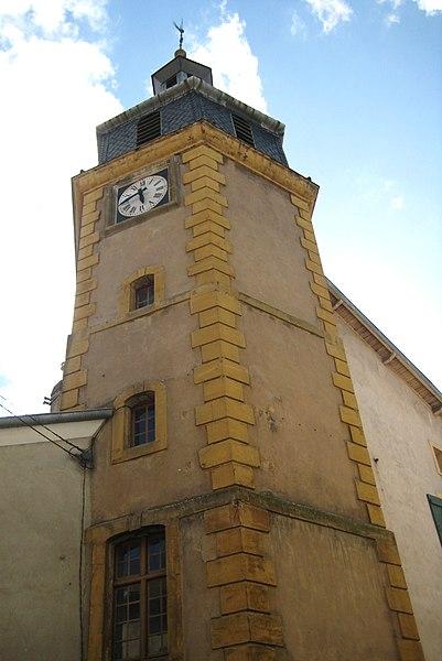Photo du Monument Historique Beffroi situé à Briey