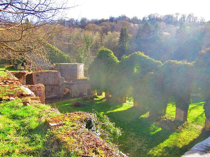 Photo du Monument Historique Domaine de l'ancienne forge de Buré situé à Allondrelle-la-Malmaison