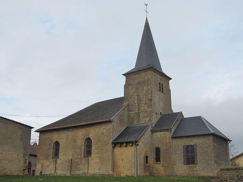 Photo du Monument Historique Eglise Saint-Etienne et Saint-Thibault de Bonvillers situé à Mont-Bonvillers