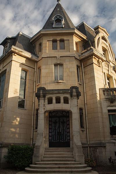 Photo du Monument Historique Propriété, villa Fruhinsholz situé à Nancy