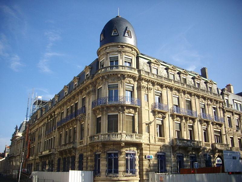 Photo du Monument Historique Banque SNCI situé à Nancy