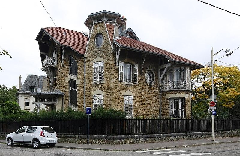 Photo du Monument Historique Maison dite Villa Marguerite situé à Nancy