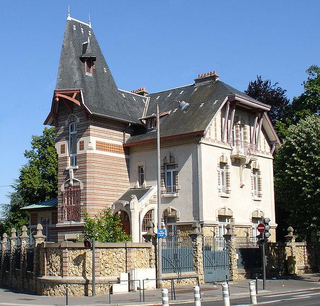 Photo du Monument Historique Maison dite Villa Lang situé à Nancy