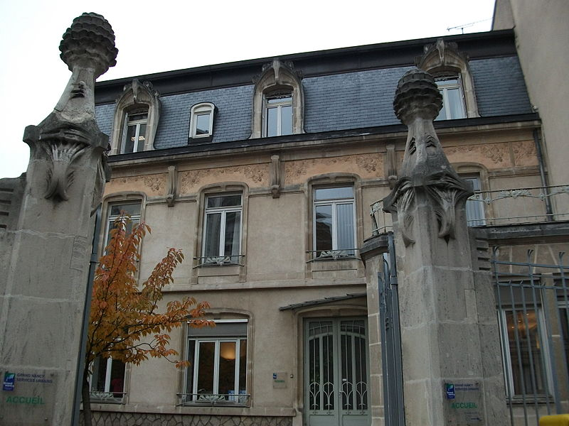 Photo du Monument Historique Maison Spilmann situé à Nancy