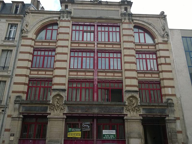 Photo du Monument Historique Immeuble, ancienne imprimerie Royer situé à Nancy