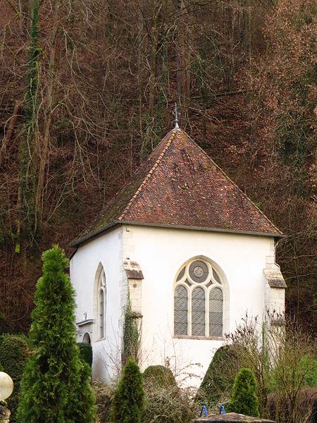 Photo du Monument Historique Ancien prieuré Saint-Nicolas de la Rochotte situé à Pierre-la-Treiche