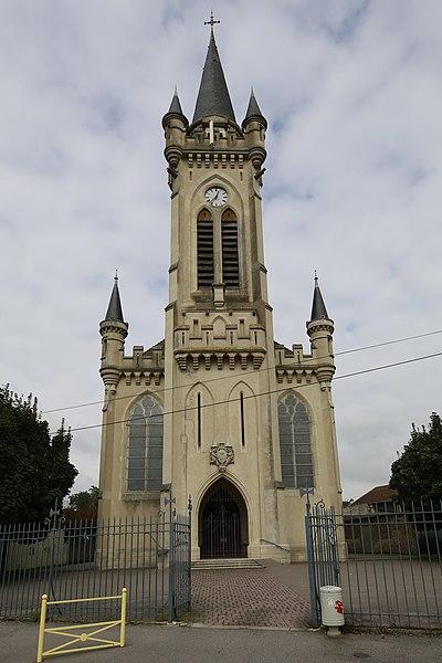Photo du Monument Historique Eglise Sainte-Jeanne-d'Arc situé à Lunéville