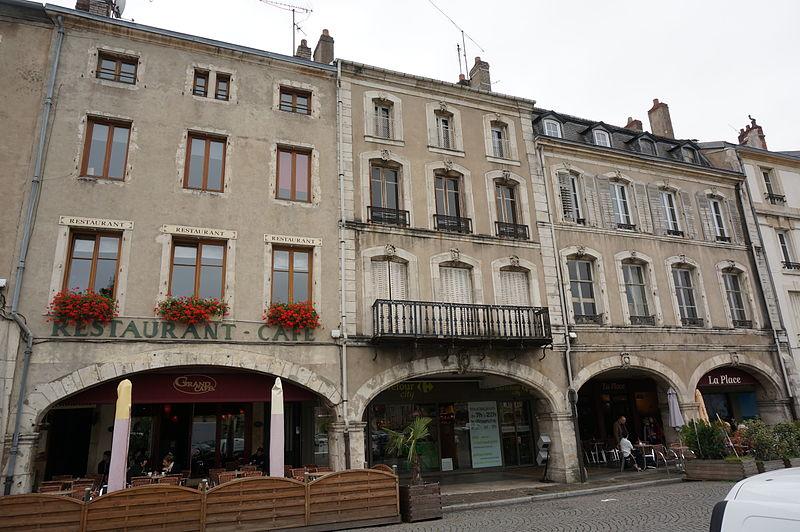 Photo du Monument Historique Maisons situé à Pont-à-Mousson