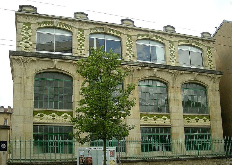 Photo du Monument Historique Ancien établissement d'Emile Gallé situé à Nancy