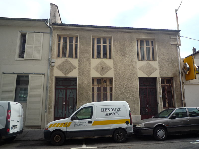 Photo du Monument Historique Immeuble situé à Nancy