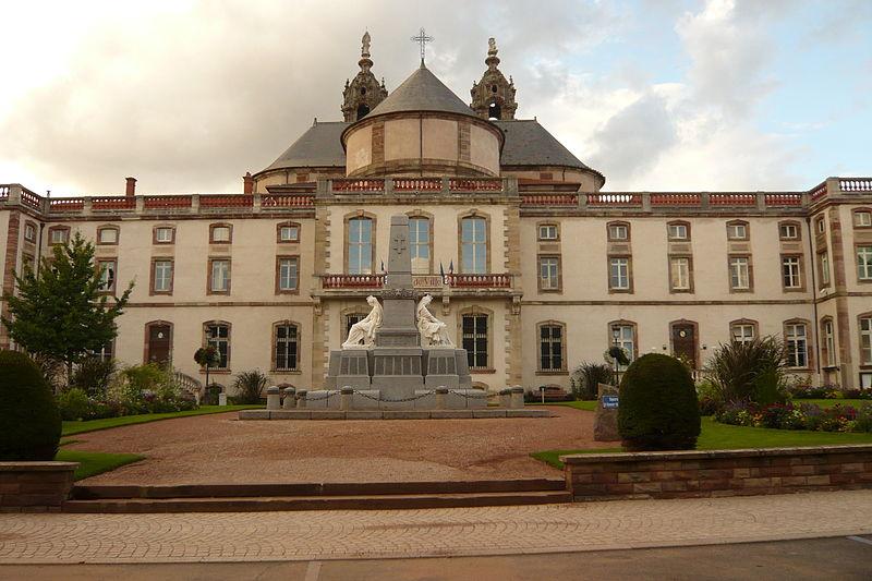 Photo du Monument Historique Ancien hôtel abbatial Saint-Rémy situé à Lunéville