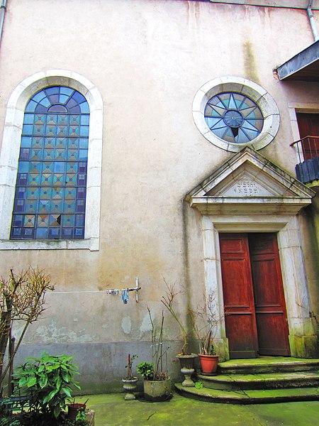 Photo du Monument Historique Synagogue situé à Pont-à-Mousson