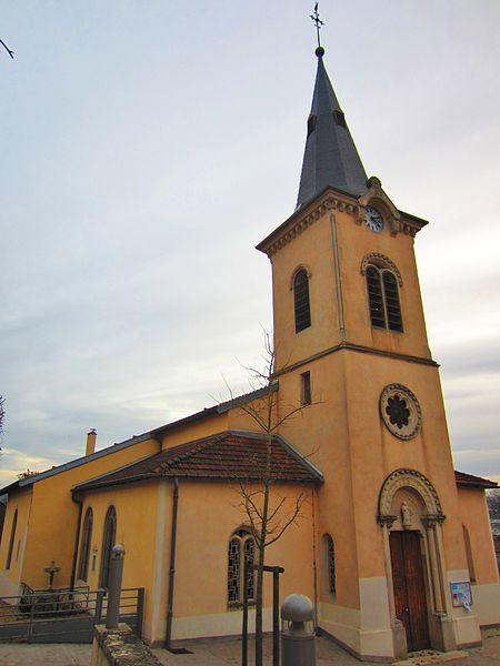 Photo du Monument Historique Eglise Saint-Martin situé à Bouxières-aux-Dames