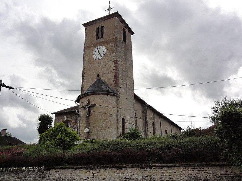 Photo du Monument Historique Eglise Saint-Martin situé à Flin