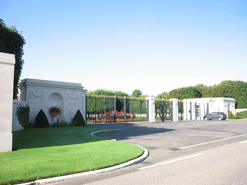 Photo du Monument Historique Cimetière américain situé à Thiaucourt-Regniéville