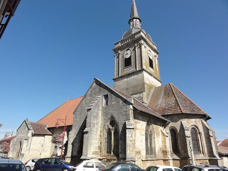 Photo du Monument Historique Eglise Saint-Martin situé à Ancerville