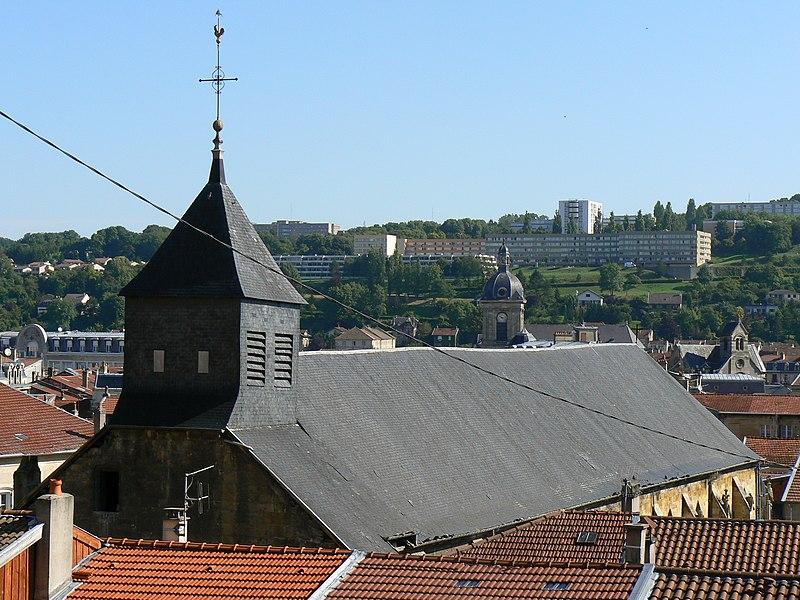 Photo du Monument Historique Eglise Saint-Antoine situé à Bar-le-Duc
