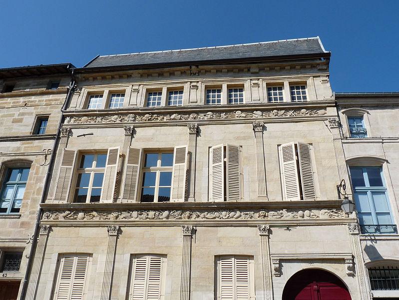 Photo du Monument Historique Hôtel de l'Escale situé à Bar-le-Duc