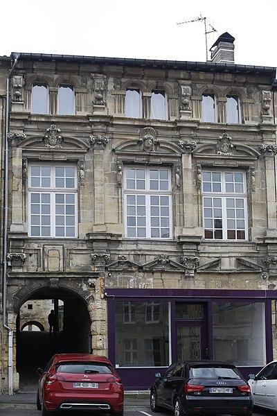 Photo du Monument Historique Maison situé à Bar-le-Duc