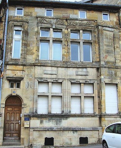 Photo du Monument Historique Immeuble dit Maison Morel situé à Bar-le-Duc