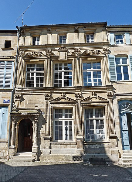 Photo du Monument Historique Immeuble situé à Bar-le-Duc