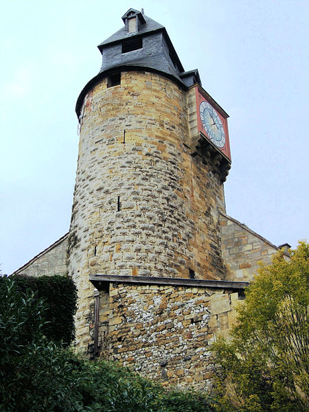 Photo du Monument Historique Tour de l'Horloge situé à Bar-le-Duc