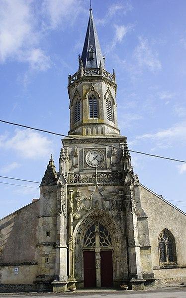 Photo du Monument Historique Eglise de Beauzée-sur-Aire situé à Beausite