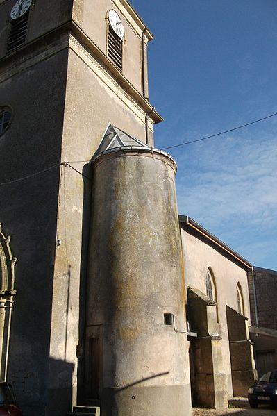 Photo du Monument Historique Eglise de Buzy situé à Buzy-Darmont