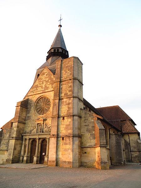 Photo du Monument Historique Eglise situé à Clermont-en-Argonne