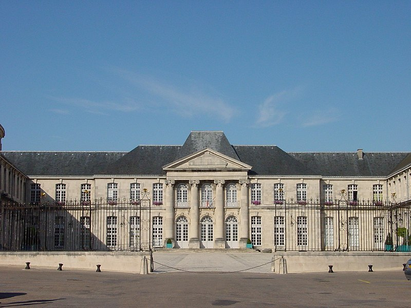 Photo du Monument Historique Château Stanislas situé à Commercy