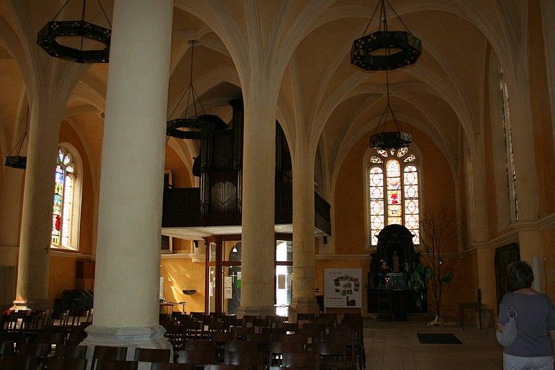 Photo du Monument Historique Eglise Saint-Pantaléon situé à Commercy