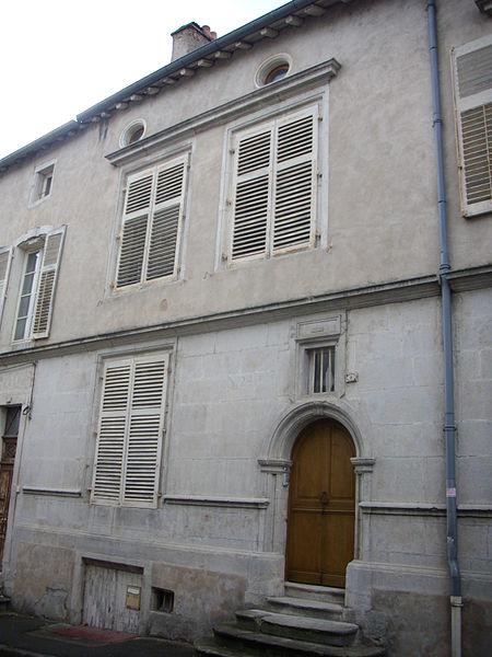 Photo du Monument Historique Maison situé à Commercy