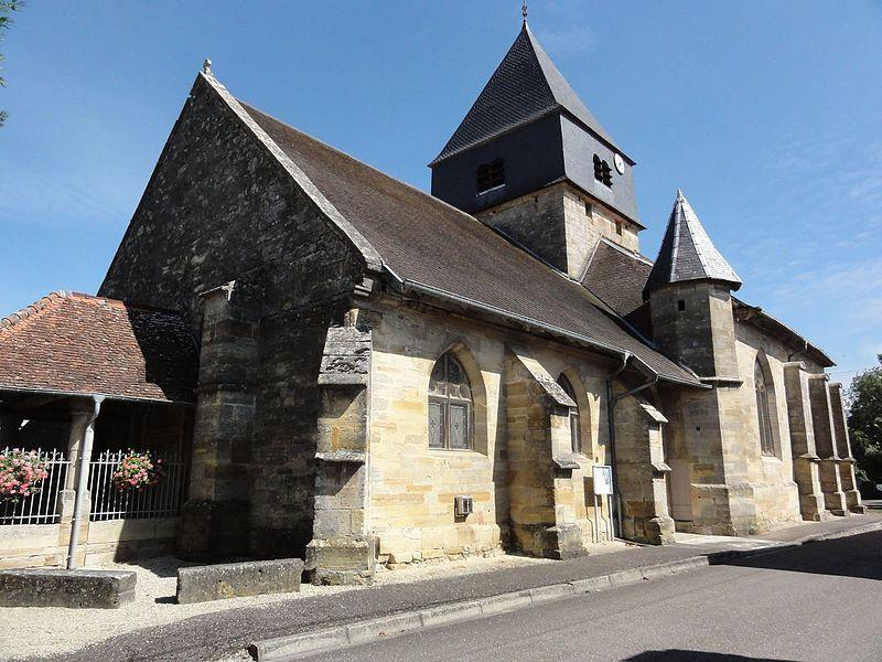 Photo du Monument Historique Eglise Saint-Quentin situé à Contrisson