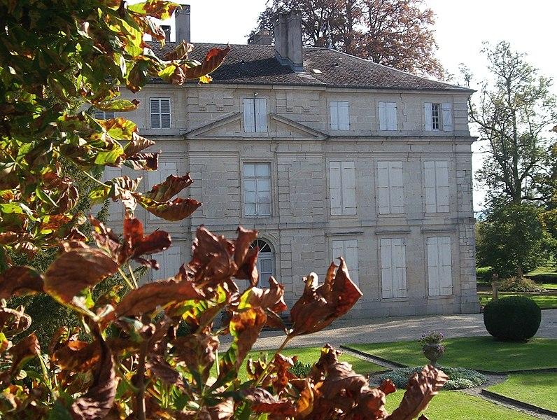 Photo du Monument Historique Château situé à Dieue-sur-Meuse