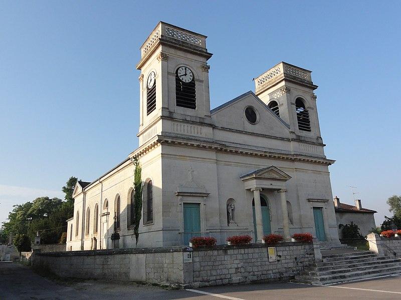 Photo du Monument Historique Cimetière désaffecté entourant l'église situé à Dieue-sur-Meuse