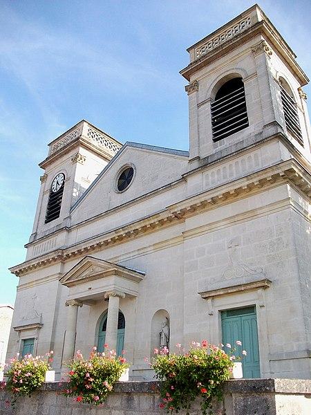 Photo du Monument Historique Eglise situé à Dieue-sur-Meuse
