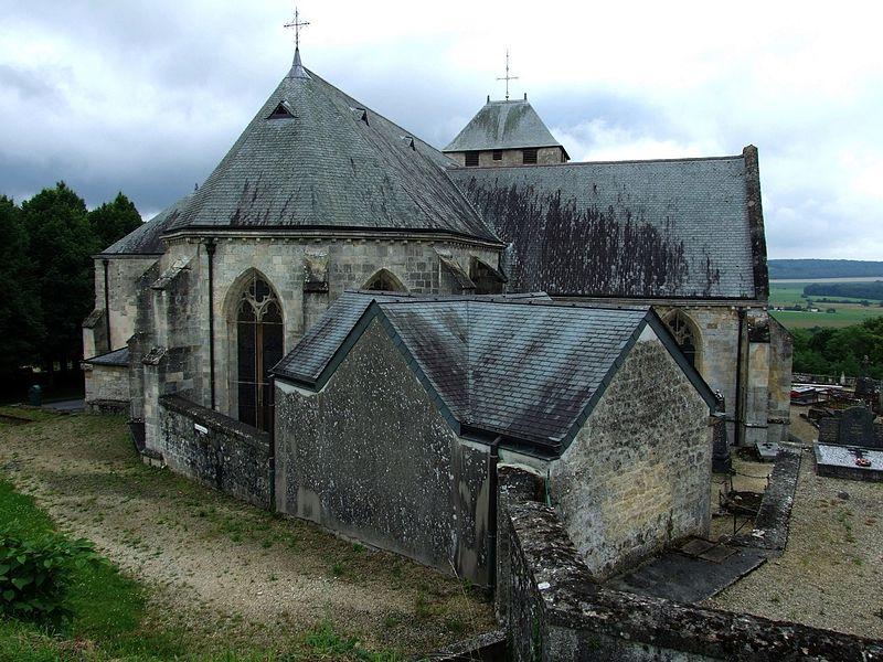 Photo du Monument Historique Eglise situé à Dun-sur-Meuse