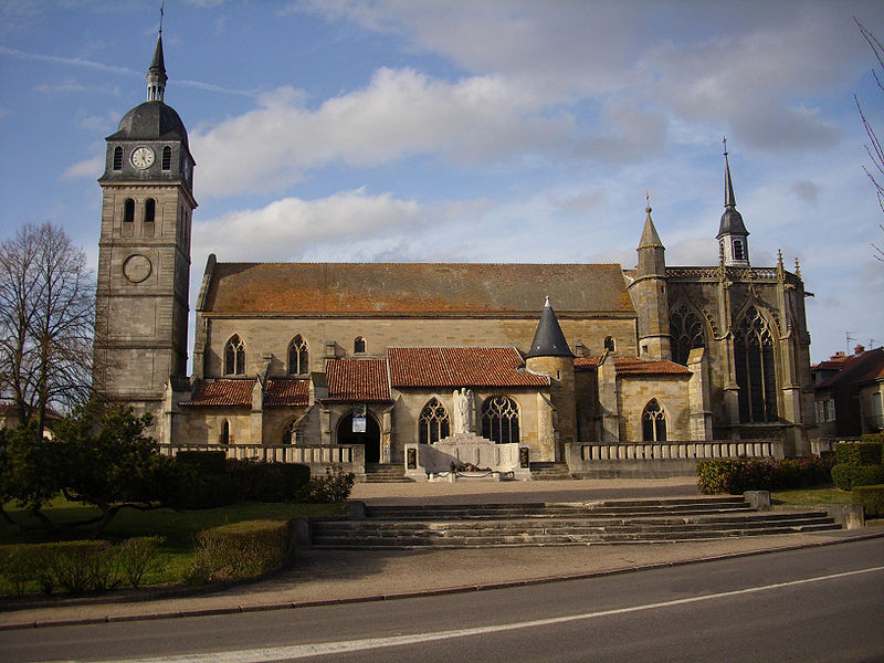 Photo du Monument Historique Eglise Saint-Martin situé à Etain